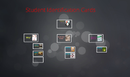 Student Identification Cards