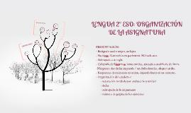 2º ESO: ORGANIZACIÓN DE LA ASIGNATURA