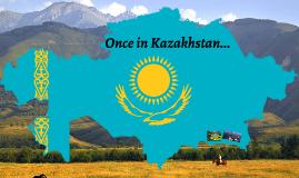 Somewhere near Almaty city