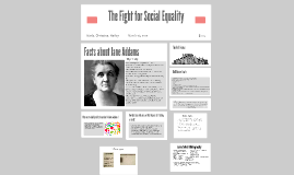 The Fight for Social Equality