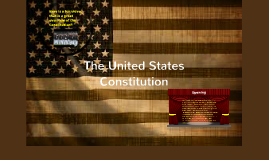 Constitution Foldable