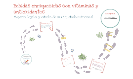 Bebidas enriquecidas con vitaminas y antioxidantes