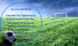 How soccer was started