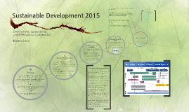 Sustainable Development 2015