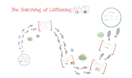 The Teaching of Listening