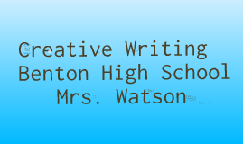 First day Creative Writing