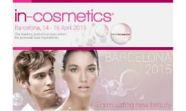 Que es In-Cosmetics?