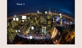 Advanced Workplace Week 3