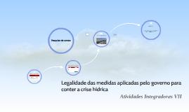 Copy of Legalidade das medidas aplicadas pelo governo para conter a