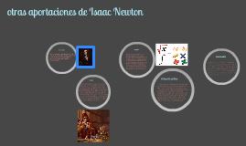 La aportación de Newton en el desarrollo de la física y en la cultura de su tiempo