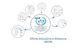 Oferta educativa a distancia UNAM