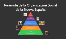 Organización Social de la Nueva España (Pirámide)