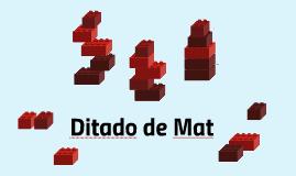 Ditado de Mat