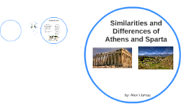 a comparison of the similarities and differences between the societies of athens and sparta