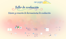 Taller de evaluación