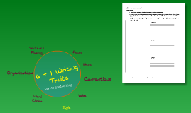 6 + 1 Writing Traits: Yes! They are Fun