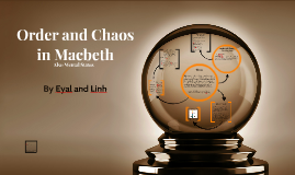 Order and Chaos in Macbeth