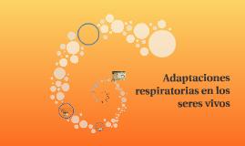 Adaptaciones respiratorias en los seres vivos