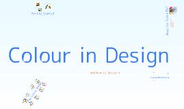 Copy of Colour in Design
