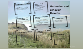 Motivation and Behavior Theories