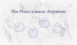 The Piano Lesson Argument