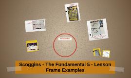 Scoggins Learning Target