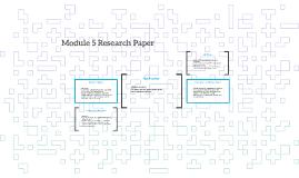 Module 5 Research Paper