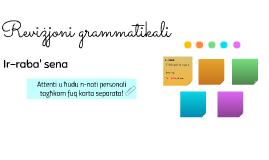 Reviżjoni grammatikali