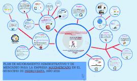Copy of PLAN DE MEJORAMIENTO ADMINISTRATIVO Y DE MERCADEO PARA LA EM