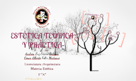 Copy of Estética teórica y práctica