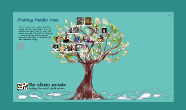 The Album People- Family Tree demo