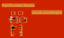 The pacific west states