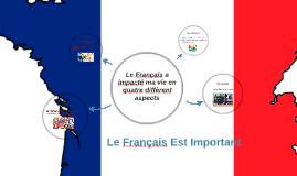Le Français Est Importante
