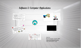 Software & Computer Applications