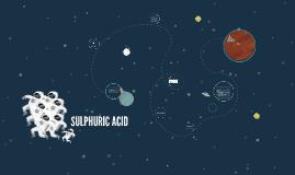 SULPHURIC ACID [H2SO4]