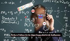 İletken Polimerlerin Süperkapasitörlerde Kullanılması