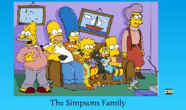 Copy of ESL Family Members - The Simpsons Family members.