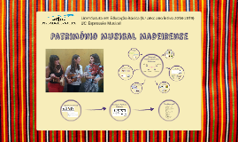 Património Musical Madeirense