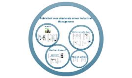 Publiciteit voor studiereis minor Industrial Management van de HAN