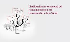 Clasificación Internacional del Funcionamiento de la Discapa