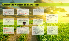 Spring 2017 Nursery and Landscape Syllabus and Student Handbook