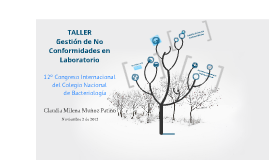 Copy of TALLER  Gestión de No Conformidades en Laboratorio