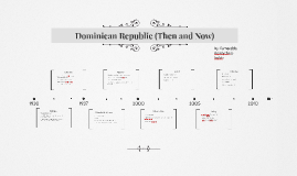 Dominican Republic (Then and Now)