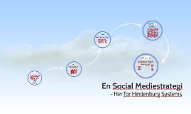 En Social Mediestrategi