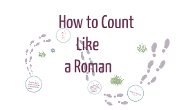 Roman Numerals & Counting in Latin