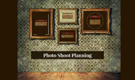Photo Shoot Planning