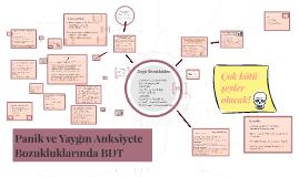Panik ve Yaygın Anksiyete Bozukluklarında BDT