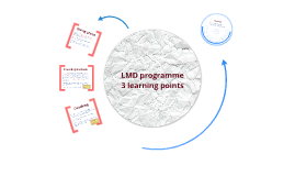 LMD programme learning points