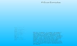 A Civic Curriculum
