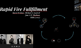 Rapid Fire Fullfillment